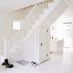Under the stairs storage or powder room