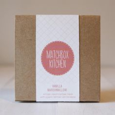 ♥ Packaging Design, Branding Design, Branding Ideas, Marshmallow Sweets, Organic Restaurant, Organic Packaging, Logo Sign, Circle Logos, Packaging