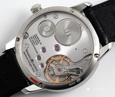 Maurice Lacroix Masterpiece Roue Carree Seconde: Caseback