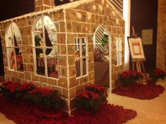 #Gingerbread House at our Partner Crimson Hotel Filinvest City, #Manila in the #Philippines. #HotelREZChristmas #Hotels
