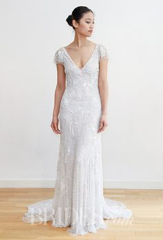 Brides: Eliza Jane Howell Wedding Dresses - Spring 2016 - Bridal Runway Shows - Brides.com