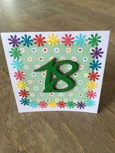 Birthday Card 18  £3.80