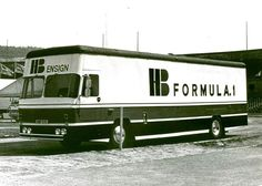 f1 DAF FA 1200 - 1975. Transporte del Equipo Ensign