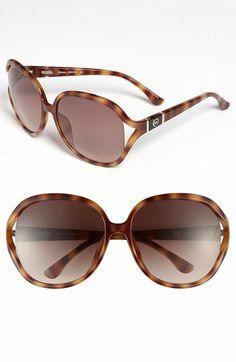 b7c132c3e1345 MICHAEL Michael Kors  Vanessa  61mm Oversized Sunglasses available at   Nordstrom Vanessa Brown