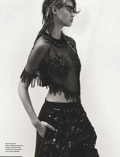 Lindsey Wixson by Greg Kadel for Numéro #150 Feb 2014