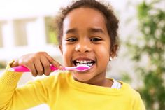 The physical ramifications of poor dental hygiene are often discussed, but there are less conversations about how oral care can influence your child's self-esteem. A global study conducted by Unilever Oral Care found a direct link between dental… Dental Hygiene, Dental Health, Oral Health, Dental Care, Teeth Health, Kids Health, Health Diet, Heal Cavities, Tooth Pain