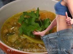 Dieta da sopa milagrosa que emagrece 1 kg por dia