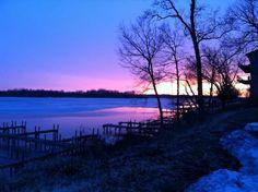 Sunset on Buckeye Lake, Ohio
