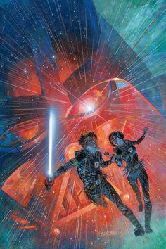 Splinter of the Mind's Eye, art by Duncan Fegredo [Star Wars]