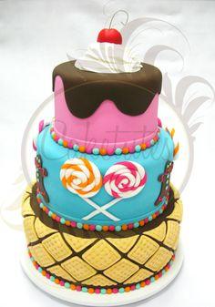 Hansel and Gretel - Caketutes Cake Designer: Bolo João e Maria