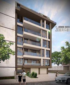 Dış Cephe Tasarımı Eskişehir #architecture #3Dmodeling #cephetasarımı