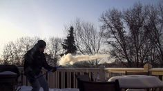 Super Soaker vs. Minnesota Polar Vortex. Today marks one of the coldest days in Minnesota in decades.  This morning, in Apple Valley, the th...