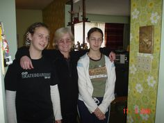 pic 79c. Emily on the left and Analise on the right are my ex-husband's brother's children aka the girls are my nieces.  March 2004