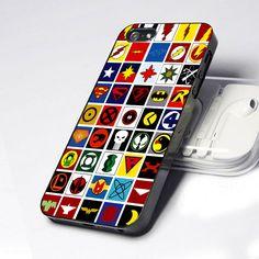 Superheroes Logo iphone 4/4s Case