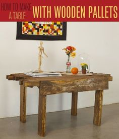 Have you ever wondered how to refinish a table the easy way? Check out our simple DIY refinishing technique! We'll show you how to strip a table in minutes. Homemade Furniture, Diy Pallet Furniture, Woodworking Furniture, Furniture Projects, Woodworking Crafts, Furniture Design, Upcycled Furniture, Sofa Furniture, Paint Furniture
