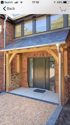 45 best ideas front door porch canopy best ideas front door porch canopy Ideas Traditional Front Door Entrance Porch Ideas For Ideas Traditional Front Door Entrance Porch Ideas For 2019 doorCanopy House With Porch, House Front, House Exterior, Porch Roof, Porch Extension, Front Door Porch, Front Porch Design, Porch Canopy, Wooden Porch
