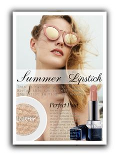 """Sem título #394"" by geovanalima ❤ liked on Polyvore featuring beauty and summerlipstick"