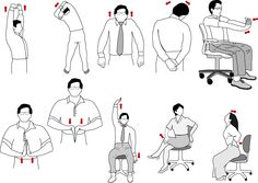 Relax muscle while working