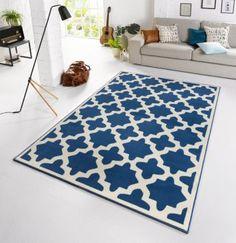Zala Living Design-Teppich Capri Blau 140 x 200 cm