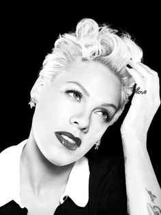 Alicia Moore - #PINK - she works so hard Ms Moore is one inspiring woman offering great insights into life while keeping it real!