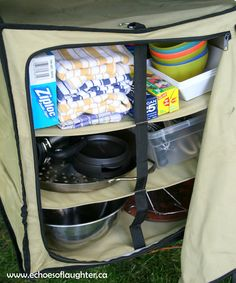 Echoes of Laughter: Organizing A Camping Kitchen