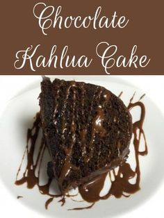 Chocolate Kahlua Cake Recipe Using Cake Mix! Yummy Yummy! - Enchanted Savings