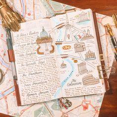 Melhor que viajar, só recordar os melhores momentos quando volta pra casa. São fotos, bilhetes, lembranças e souvenirs para construir essa memória nostálgica num diário de viagem | www.carpemundi.com.br