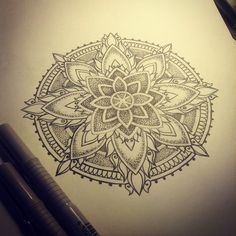 For Ann, in progress #mariannetattoo #mandala #mandalatattoo #sketch #tattoosketch #dotwork #linework #dots #sacredgeometry #sacredgeometrytattoo #эскиз #мандала #эскизтату #дотворк #орнамент