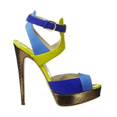 """Brian Atwood  ~ The """"Laila"""" sandal. It's sexy and it knows it."""