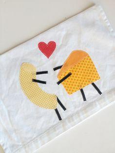 Macaroni and Cheese Towel  Second Anniversary Gift. Wedding Gift. Housewarming Gift. kakabaka, $16.00