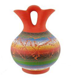 Large Navajo Wedding Vase Signed by Ella Morgan | klugex.com/collectibles