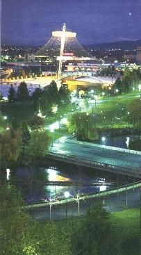 Riverfront Park @ Night