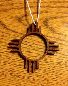"""New Mexico """"Zia Symbol"""""""