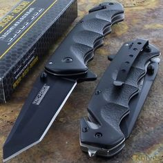 Tac-Force Black TANTO BLADE Spring Assisted Tactical Folding Pocket Knife New!!! for USD9.99 #Collectibles #Knives #Swords #Tac-Force  Like the Tac-Force Black TANTO BLADE Spring Assisted Tactical Folding Pocket Knife New!!!? Get it at USD9.99!