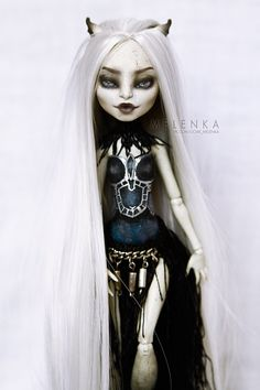 Ooak Monster High Rochelle Fantasy repaint