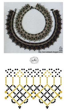 Natali Khovalko's photos Diy Necklace Patterns, Beaded Jewelry Patterns, Beading Patterns, Beaded Earrings, Beaded Bracelets, Necklaces, Pearl Crafts, Beaded Collar, Handmade Beads