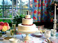 Leilas bröllopstårta i flera våningar