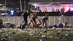 """At least 58 people were killed and 515 were injured in Las Vegas Sunday night when a gunman opened fire on a music festival crowd from the 32nd floor of the Mandalay Bay Resort and Casino. It was the deadliest shooting in modern U.S. history. The """"nonstop gunfire,"""" according to one witness, sent..."""