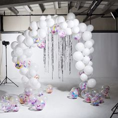 Introducing the Bonbon Balloon Arch! #balloonarch #bonbonballoons