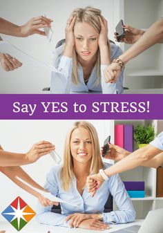 Can  you say 'yes' to stress? Stress is not the enemy. There are benefits of stress that you may not have realized, and can actually be good for your health.