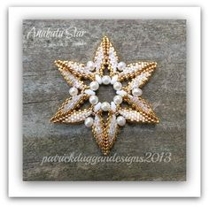 Anahata Star - Tutorial for a Christmas Ornament