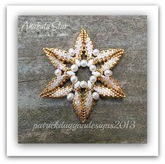 Anahata Star - Tutorial for a Christmas Ornament