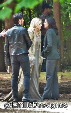 Colin, Jennifer, & Lana on set (July 14, 2015)
