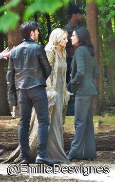 Colin, Jennifer, & Lana on set (July 14, 2015)