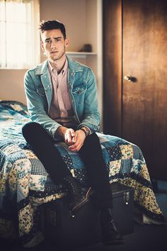 American Apparel Jacket, Everlane Shirt, 7 For All Mankind Jeans, Dr. Martens Boots