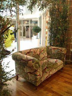 Latymer sofa in Flying Ducks - Sand #mulberryhome #gpjbaker