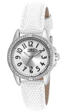 """6a902a9b63e Invicta Women s Crystal-Accented Stainless Steel Watch ... Invicta Women s  16334 """"ANGEL"""" Crystal-Accented Stainless Steel Watch"""