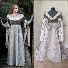 Get ready for the White Princess on Starz with this White Queen gown.