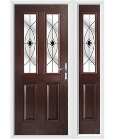 Exterior Door CARDIFF by Value Doors  sc 1 st  Pinterest & A Chartwell Green Cardiff Composite Doors! | Composite Doors ... pezcame.com