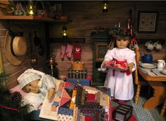 Show off your past Christmas Displays! | American Girl Playthings!
